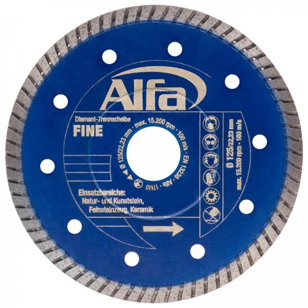 695 Alfa Diamant-Trennscheibe FINE