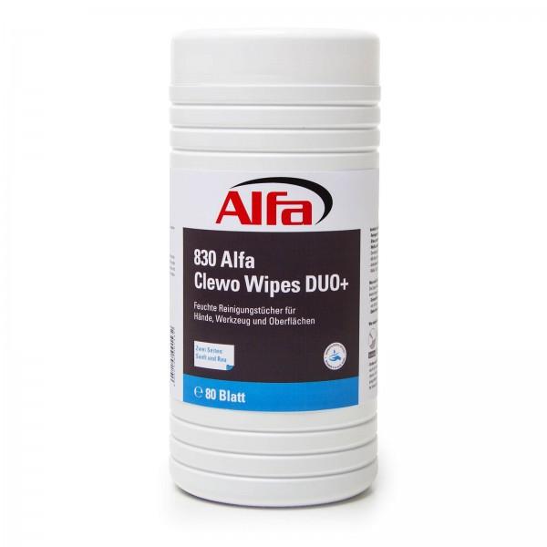830 Alfa Clewo Wipes Duo+ (Spezial-Feuchtreinigungstücher)