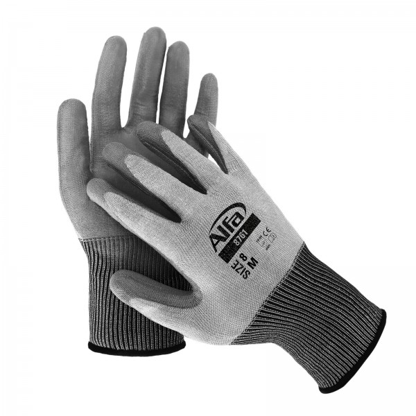 8761 Alfa PU-Schnittschutzhandschuh CUT