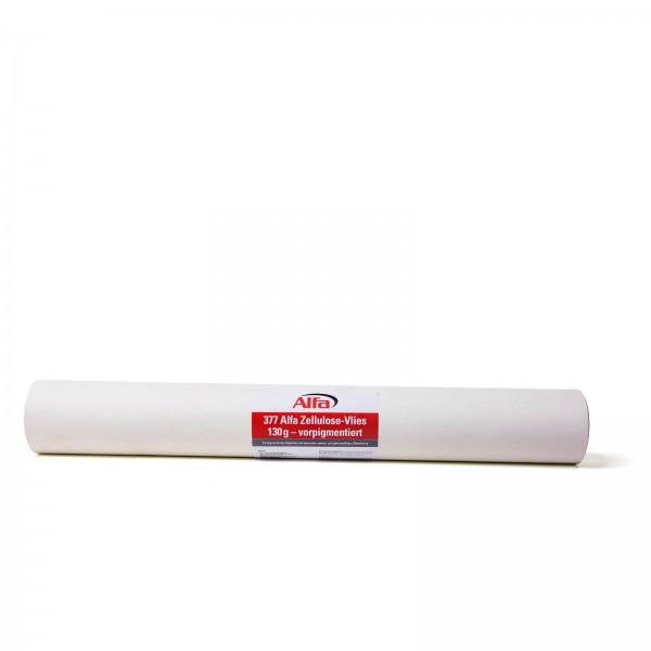 377 Alfa Zellulose-Vlies 130 g - vorpigmentiert